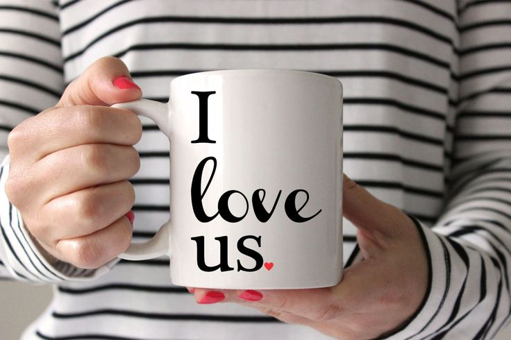 I Love Us...plain and simple! Great way to remind your special someone that you love them, each and every morning! Comes ready to gift in a wonderful gift box. All of our mugs are: - Dishwasher & micr