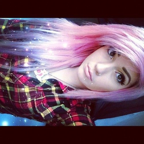 hailedabear pink hair/// I just really love her hair!!!!//