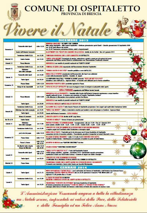 Vivere il Natale a Ospitaletto http://www.panesalamina.com/2013/19454-vivere-il-natale-a-ospitaletto.html
