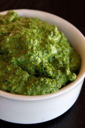 Spinach Arugula Pesto