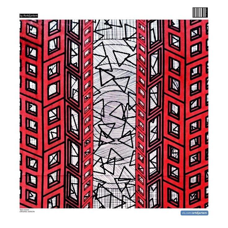 👌👌👌😈😈😈🔯🔯🔯❎❎❎ #redhook #myart #free #freeart #artdjartem #new #newprojects #abstractart #popart #artdjartem #art #everydayart #moreart #avangartart #graphicart #zenart #zentangle #2018