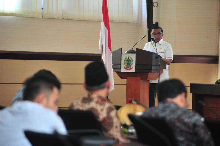 Bertemu Komisi II, Agus AN Laporkan Kesiapan Penyelenggaraan Pilkada