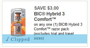 High Value! $6 in Savings on BIC Razors ($1.77 for 3 Count Bella at Walgreens through 07/29!) Normally $7.29