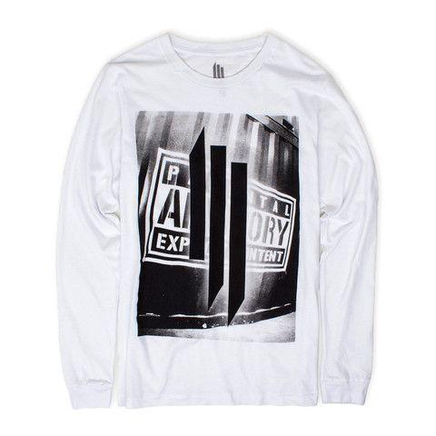 Skrillex 'Explicit Content LS' T-Shirt / Unisex / Preorder | Skrillex official storefront powered by Merchline