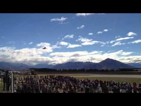 Air NZ 777 over Wanaka