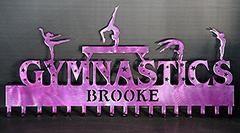 Gymnastics Medal Holder: Gymnast Medals Hanger: Gymnastics Awards Display: