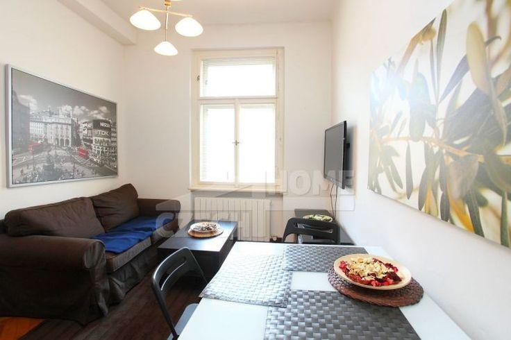 Pronájem bytu 2+kk, Praha 3 - Žižkov - Cimburkova, 33 m2, zařízeno, výhled do zeleně