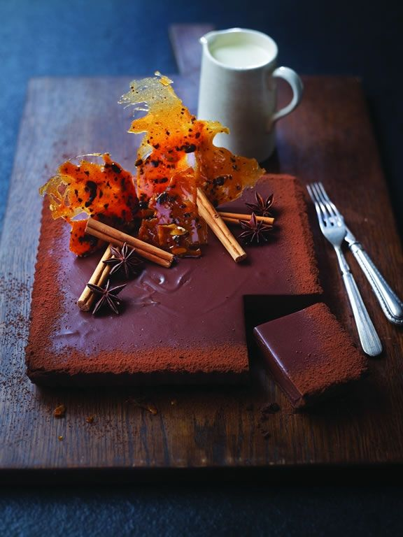 West Indies Chocolate Tart by Eric Lanlard