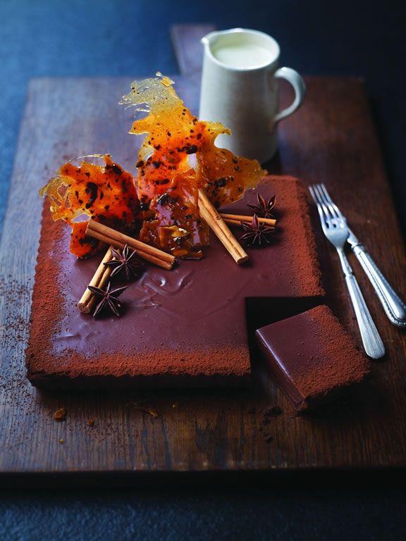 West Indies Chocolate Tart by Eric Lanlard