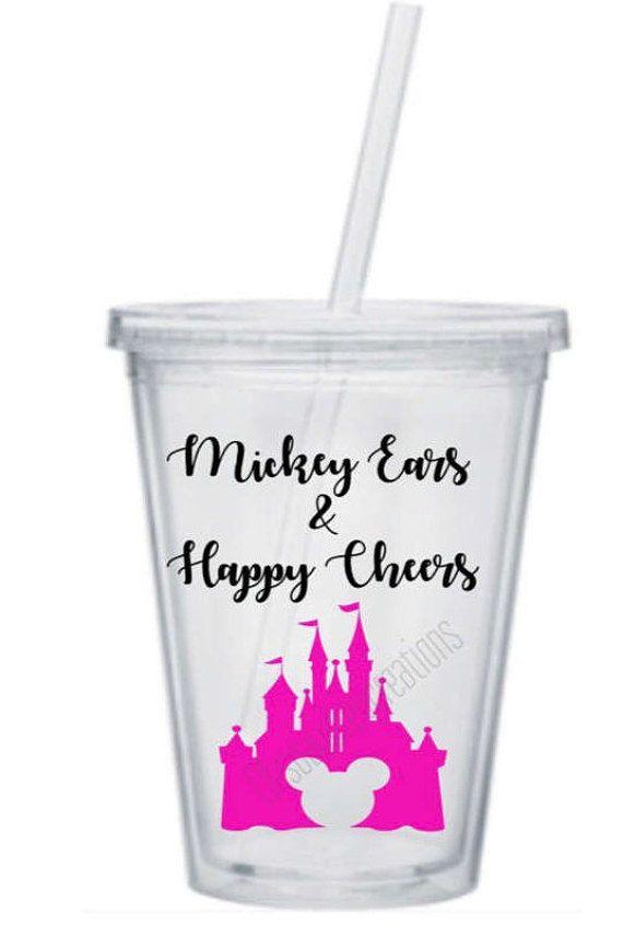 Mickey ears happy cheers tumblercastle tumbler custom