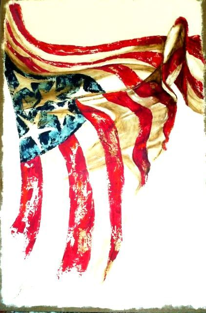 Flag Design Ideas using this flag design as well i came up with a few more ideas American Flag Art American Flag Art Americana Wall Decor Old Glory Patriotic Pictures Veterans American Artist