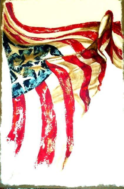 American Flag Art American Flag Art Americana Wall Decor ... Famous American Flag Art