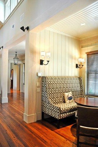 Palmetto Bluff - Custom Home contemporary living room
