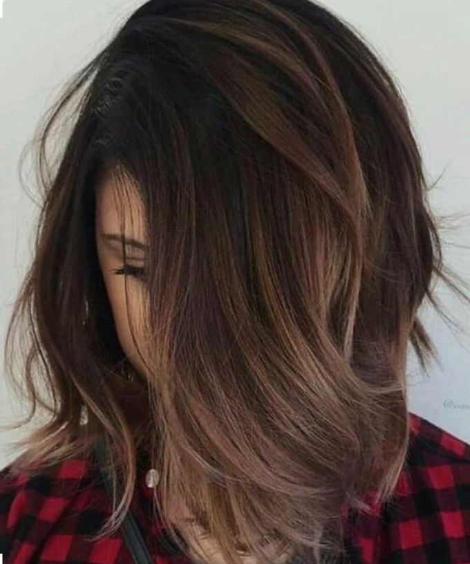 Brunette bayalage http://coffeespoonslytherin.tumblr.com/post/157339262527/finding-new-short-hairstyles-2017