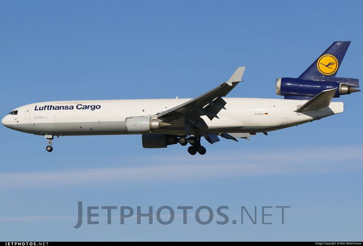 High quality photo of D-ALCJ (CN: 48802) Lufthansa Cargo McDonnell Douglas MD-11(F) by Alec Mollenhauer