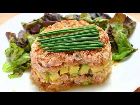 Tartar de Salmon y aguacate: Cocinando con ALBERTO CHICOTE - Recetas de cocina - YouTube