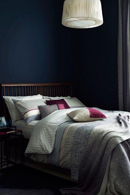 Berry Colours - Bedroom Ideas, Furniture Designs (houseandgarden.co.uk)