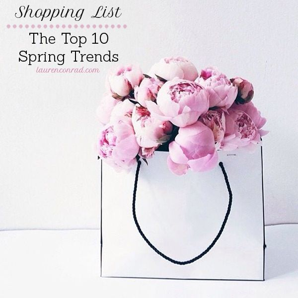 Shopping List: The Top Spring Trends