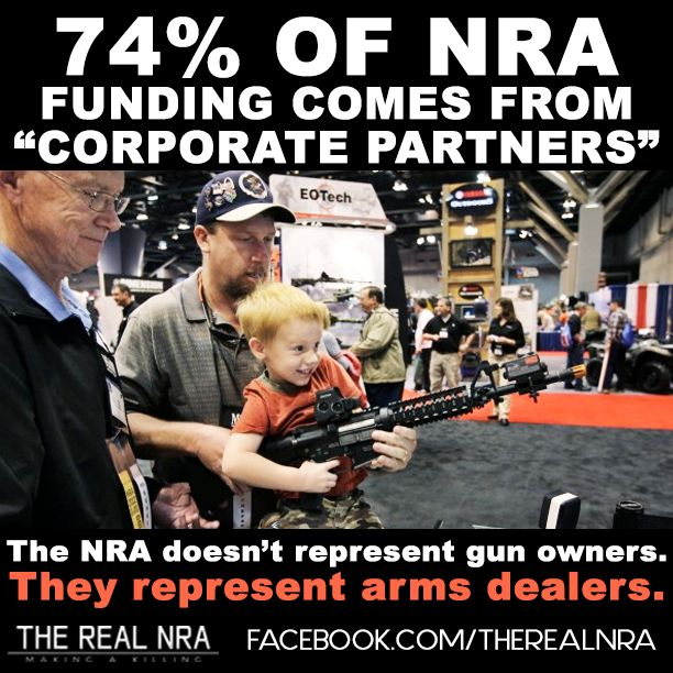 I am a gun owner and the NRA does not represent me.  I believe in responsible gun ownership the same way I believe in responsible driving.