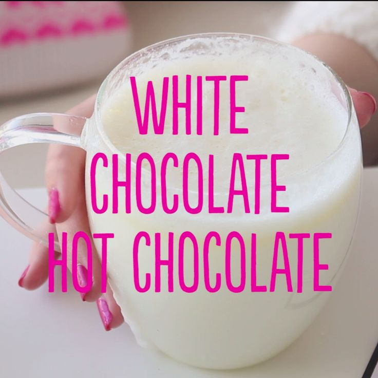 A simple but delicious and creamy way to enjoy homemade hot chocolate in minutes!