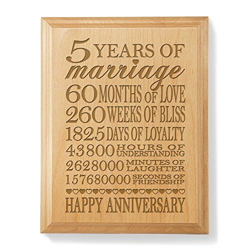 5 year anniversary wood meaning