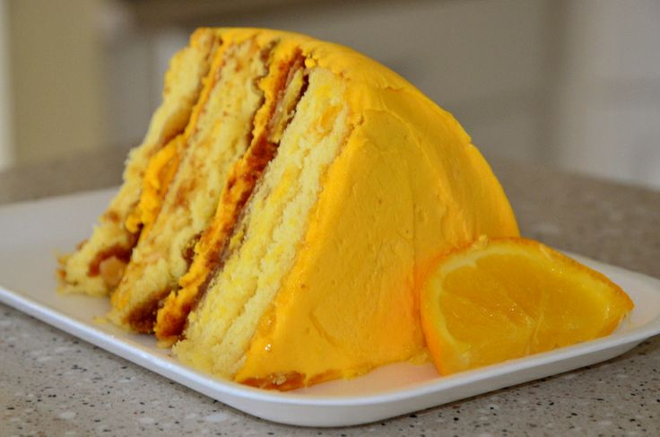 Orange Crunch Cake I Might Try This With Lemon Instead
