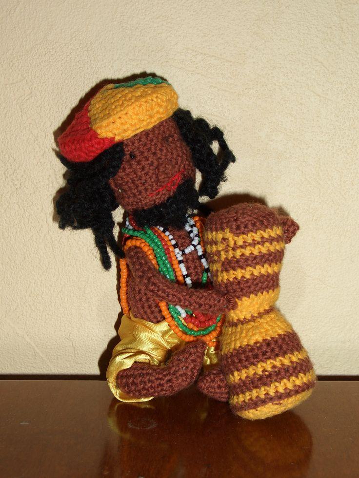 knitting, doll, toy, raggie, вязаная игрушка, регги, amigurumi, амигуруми