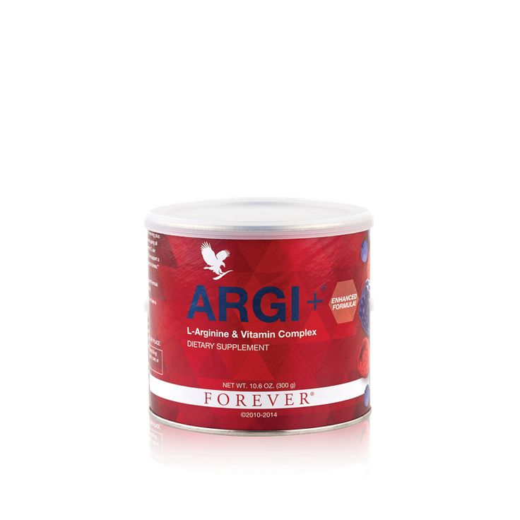 Forever ARGI+® - ARGI+? provides all the power of L-Arginine, plus pomegranate ? well-known for its strong antioxidant properties and grape skin, red grape and berry extracts for cardiovascular and immune system support