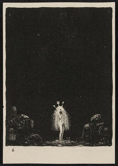 Lithograph 1, John Bauer,  1915: