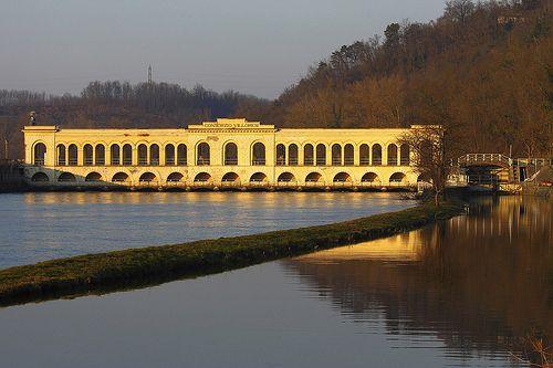 Opera di presa Villoresi 3, dighe del Panperduto, Ticino, Somma Lombardo, Lombardia   #TuscanyAgriturismoGiratola