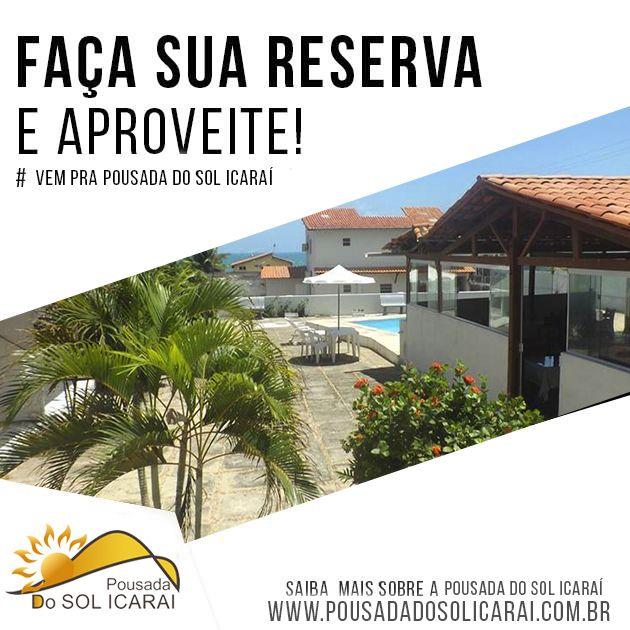 A Pousada Do Sol Icaraí situa-se a 100 metros da Praia de Icaraí e disponibiliza uma piscina exterior e acesso Wi-Fi gratuito nas áreas públicas. Os quartos climatizados têm um mini-bar. Acesse nosso site:http://www.pousadadosolicarai.com.br/reservas/ #pousada #dosol #icarai +55 (85) 3318-2006 | +55 (85) 98647-290