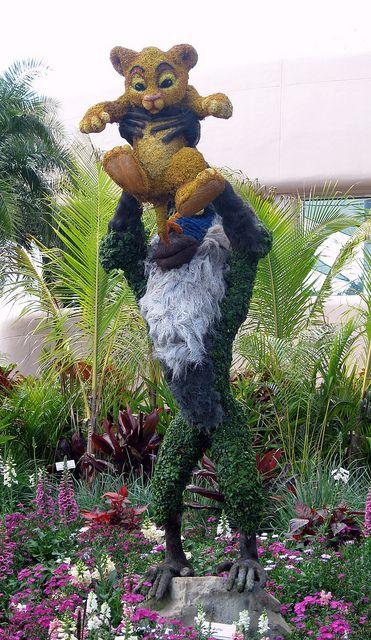 EPCOT International Flower and Garden Festival - Topiary - The Lion King (2)