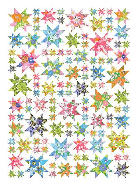 bangles bracelets Oh my Stars instructions Add to the growing list of 34To make34 quilts  Quilts amp fabric