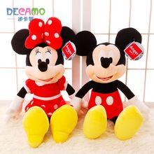 Oryginalna Mickey Minie lalki, pluszowe zabawki, lalki Mickey Mouse, prezent urodzinowy, aby wysłać do znajomych (Chiny (kontynentalne))