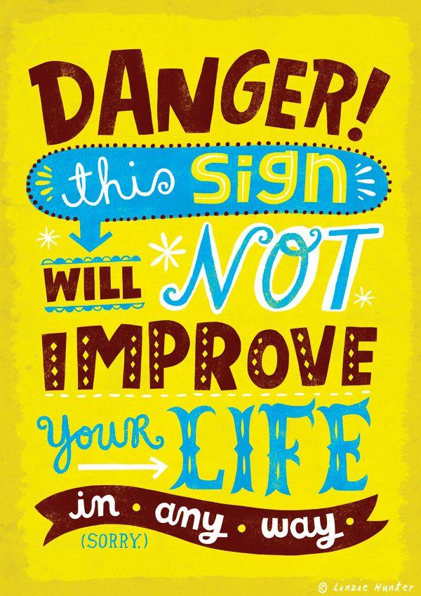 Série de pôsteres segue o caminho inverso da inspiração Esqueça as mensagens otimistas com a coleção Uninspiring Posters
