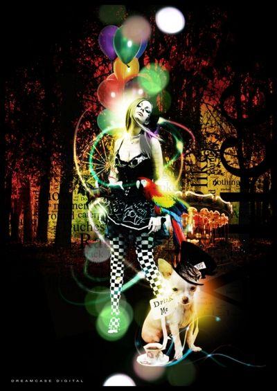 "Dreamcase Digital Portfolio ""Alice in Dreamcase"" www.dreamcasedigital.com"