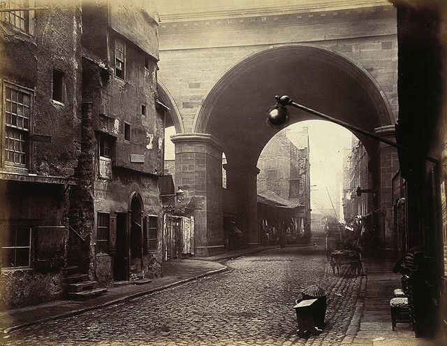 The Cowgate Arch of George IV Bridge, Edinburgh by National Galleries of Scotland Commons, via Flickr