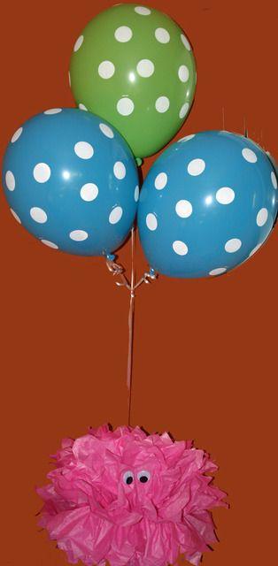 Monster balloons: Photo, Monsters Balloon, Dots Balloon