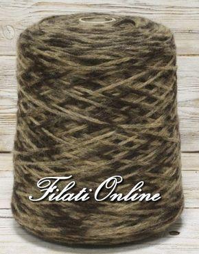 WO352 Filato misto lana cordonato fiammato toni del marrone 1,40€/hg - http://www.filationline.it/wo352-filato-misto-lana-cordonato-fiammato-toni-del-marrone-140ehg/ 30% lana 70% acrilico Spessore 3,5mm Filato cordonato caldo e morbido 755gr 10,57€