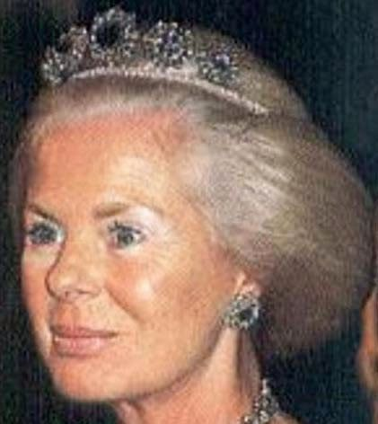 Duchess Of Kent >> Tiara Mania: Cambridge Sapphire Parure Necklace Tiara worn by Duchess Katharine of Kent | United ...