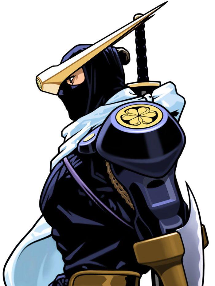 Kenji from Capcom Fighting Evolution