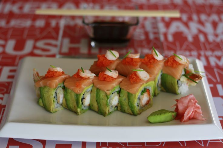 Mix Rolls. Ikebana Japanese Cuisine, 8vo piso de Hotel Sunfish Iquique - Chile.