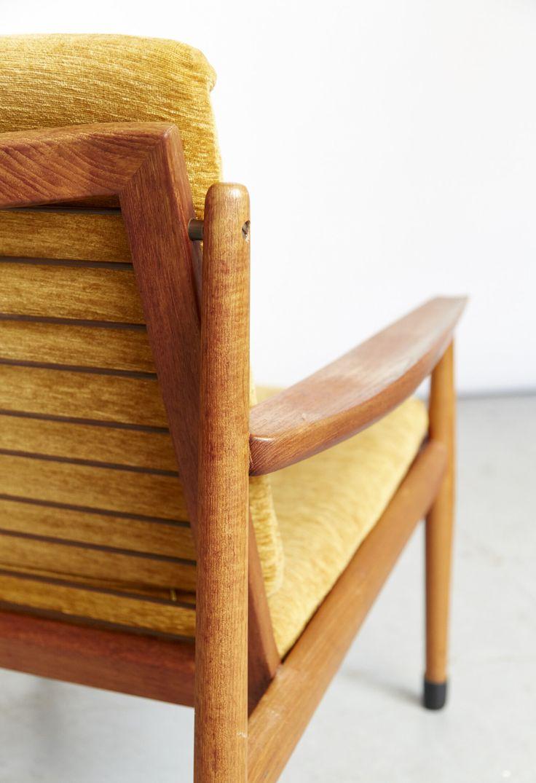 Eilers Interieur Arne Vodder Easy Chair For Glostrup Dänische Möbel Interieur Lounge Chair