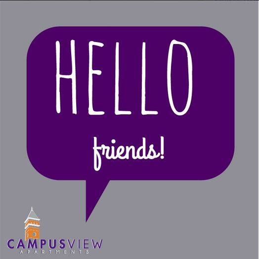 Our management staff is always here to listen to concerns, suggestions, or if you have any questions at all regarding life at Campus View Apartments. Give us a call today at (864) 722-5109! ‪#‎clemsonview‬ ‪#‎Clemson‬ ‪#‎solidorange‬