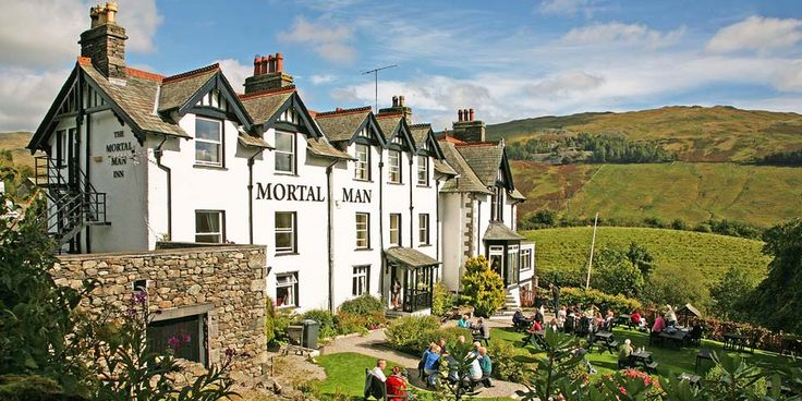 Travelzoo: 101 Things to do in The Lake District -- 37: Stop off in Troutbeck at one of the UK's Best Beer Gardens - The Mortal Man: a must for pre-, post- or mid-walk drinks