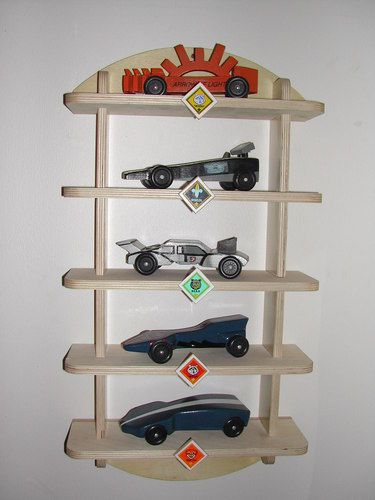 Pinewood Derby Shelf Display Kit Cub Scout Boy Scout Woodworking | eBay