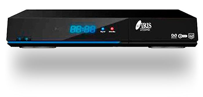 DECODIFICADOR SATELITE DIGITAL IRIS 2700 HD WIFI 1080P 87,99€ PRECIO TOTAL
