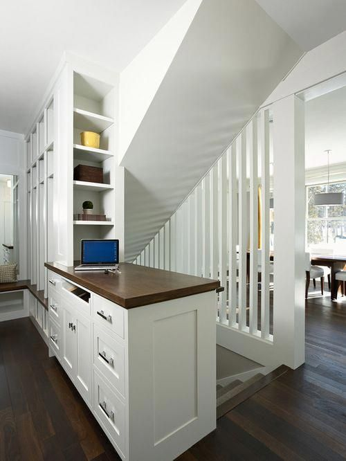 Popular of Kitchen Design With Basement Stairs Houzz Open ...