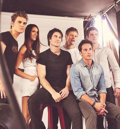 Vampire Diaries crew