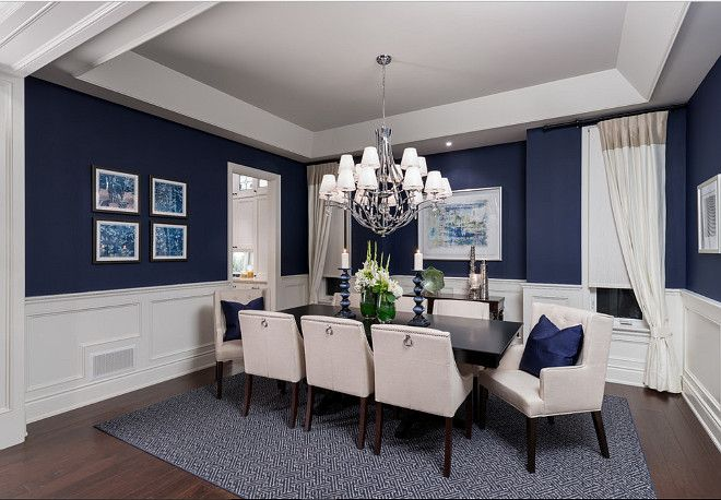 Benjamin Moore Old Navy. Benjamin Moore Old Navy Paint Color #BenjaminMooreOldNavy Jane Lockhart Interior Design